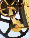 Gezahnte Räder Stockbild