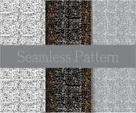 Gezeichnete eigenhändig Symbole, Formen, Punkte und Kreise auf einem Weiß-, Grauen und Schwarzenhintergrund Nationale Motive Satz Stockfotografie