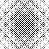Gezeichnetes eigenhändig nahtloses ethnisches Schwarzweiss-Muster lizenzfreie abbildung