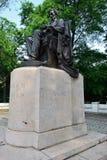 Gezet Lincoln in het Park van de Toelage Stock Afbeelding
