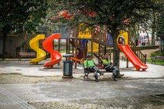 Gezi公园在伊斯坦布尔土耳其 免版税库存照片
