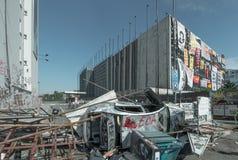 Gezi抗议在伊斯坦布尔 库存照片