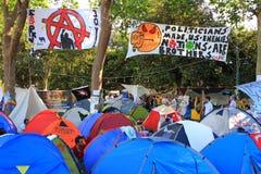 Gezi Park Camping Stock Photography