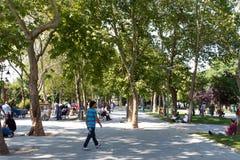 Gezi Park, Istanbul Royalty Free Stock Images