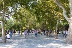 Gezi Park, Istanbul Stock Image