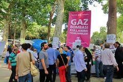 Gezi Park, Istanbul Stock Photos