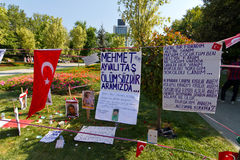 Gezi Park, Istanbul Stock Photography