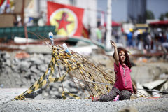 Gezi Park Protests in Istanbul Stock Photography