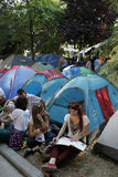 Gezi Park Protests in Istanbul Royalty Free Stock Photo