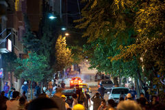 Gezi Park protests in Istanbul Royalty Free Stock Image