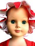 Gezicht 1 van Doll Royalty-vrije Stock Foto's