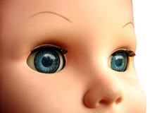Gezicht 2 van Doll Stock Fotografie