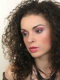 Gezicht en Make-up Royalty-vrije Stock Foto