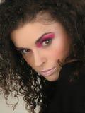Gezicht en Make-up Royalty-vrije Stock Fotografie