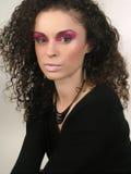 Gezicht en Make-up Stock Afbeelding