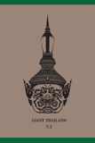Gezicht Reuzethailand Royalty-vrije Stock Foto