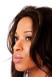 Gezicht van Afrikaanse vrouw Royalty-vrije Stock Afbeelding