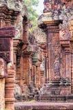 Gezicht van Angkor Wat Stock Foto