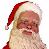 Gezicht van de Kerstman Royalty-vrije Stock Afbeelding