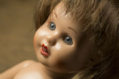 Gezicht van Doll royalty-vrije stock afbeelding