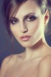 Gezicht van een mooi jong meisje Royalty-vrije Stock Afbeelding