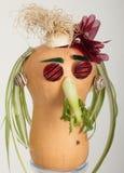 Gezicht van groenten Royalty-vrije Stock Foto