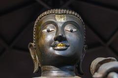 Gezicht van het beeldhouwwerk van Upagupta Boedha Royalty-vrije Stock Afbeeldingen