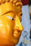 Gezicht van het standbeeld van Boedha Stock Foto