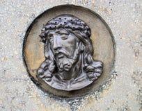 Gezicht van Jesus Royalty-vrije Stock Fotografie