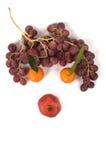 Gezicht van vruchten Stock Afbeelding