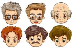 gezichten royalty-vrije illustratie