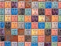gezichten Royalty-vrije Stock Foto's