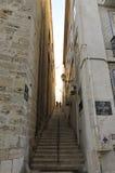 Gezichten van Alfama, Lissabon Royalty-vrije Stock Afbeeldingen