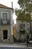 Gezichten van Alfama, Lissabon Stock Fotografie