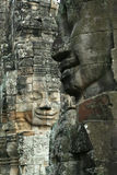 Gezichten van Angkor royalty-vrije stock foto's
