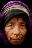 Gezichten van Gangtok Stock Foto's