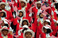 Gezichten van Malaysian stock afbeelding