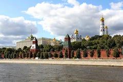 Gezichten van Moskou het Kremlin stock afbeeldingen