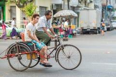 Gezichten van Myanmar Royalty-vrije Stock Afbeeldingen