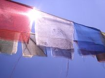 Gezichten van Nepal 5 Royalty-vrije Stock Fotografie