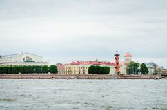 Gezichten van St Petersburg Reis naar mooie plaatsen stock fotografie