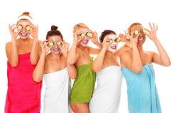 Gezichts maskers stock foto