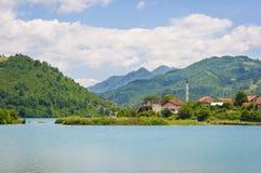 Gezichtspunt in Bosnië-Herzegovina Royalty-vrije Stock Fotografie
