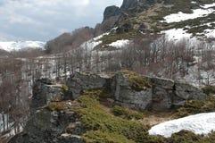Gezichtspunt in Oude berg Stock Fotografie