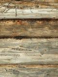 Gezimmerte Wand Lizenzfreie Stockbilder