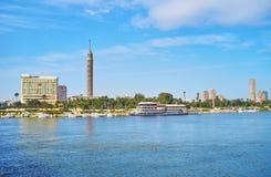 Gezira海岛,开罗,埃及 免版税图库摄影