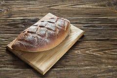 Gezond brood op houten achtergrond Natuurlijk Licht Royalty-vrije Stock Afbeelding