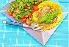 Gezond de zomerontbijt Royalty-vrije Stock Afbeelding