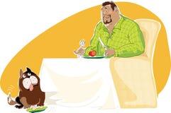 Gezond dieet vector illustratie