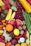 Gezond dieetvoedsel Stock Foto's